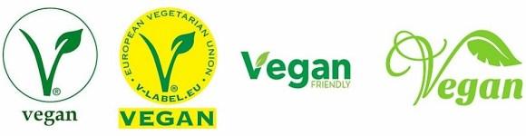 Bandeau logos vegan _ devenir vegan - des hommes et des animaux