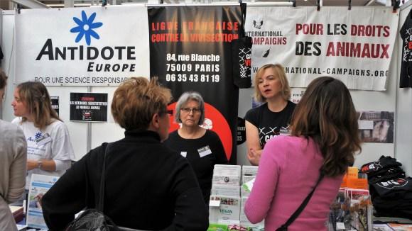 Ensemble contre la vivisection - Paris novembre 2018