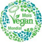 Badge Novembre Mois Vegan Mondial