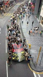 Stop au festival de Yulin Hong Kong