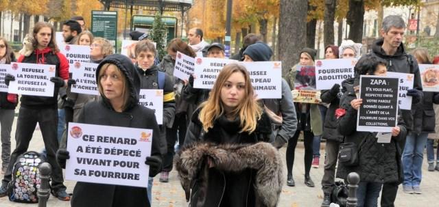 Manifestation anti-fourrure Zapa_18 novembre 2017