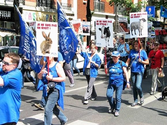 Danielle Manifestations fermeture des abattoirs
