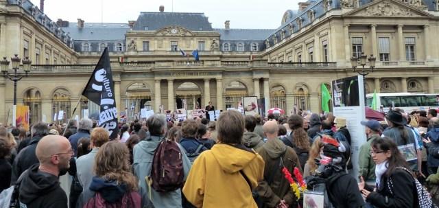 Rassemblement citoyen pour l'abolition de la corida – octobre 2012