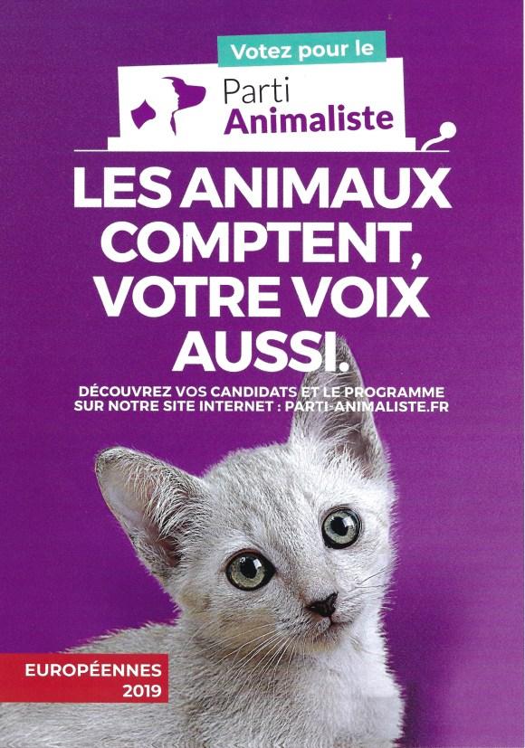 Parti animaliste voter