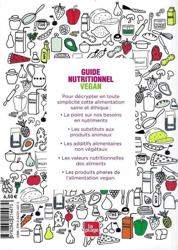 Guide Nutritionnel Vegan - nutrition végétalienne
