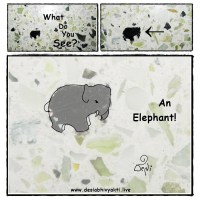 Fun Activity - Do You See The Elephant?