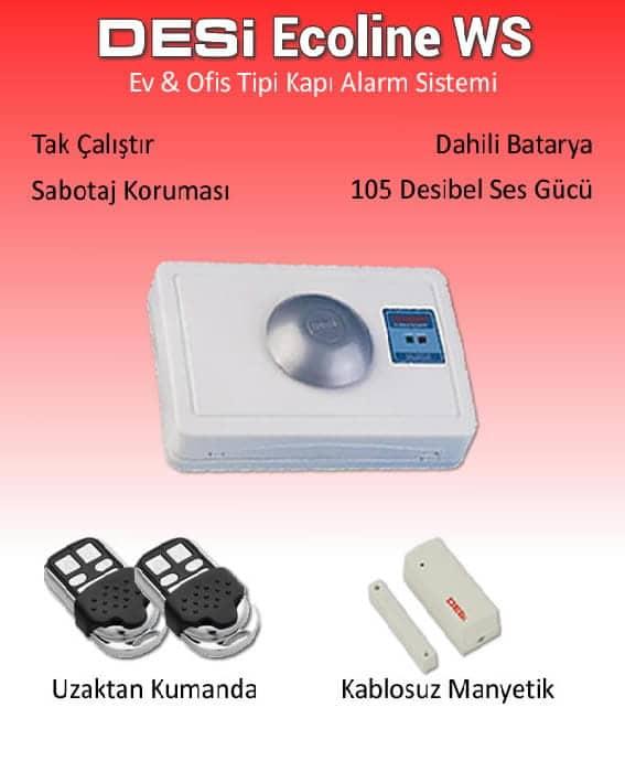 Desi Ecoline Kablosuz Alarm