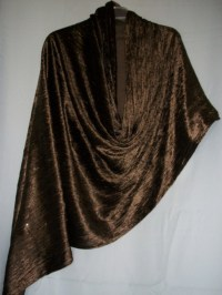 Warm Shawl, Chocolate Velvet Scarf Wrap, Indian Shawls ...