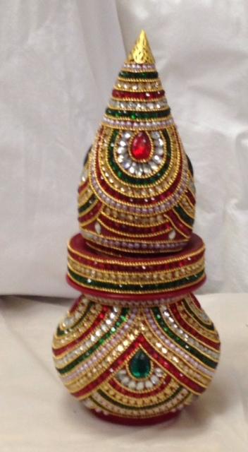 Decorated Nariyal Kalash For Pooja Buy DECORATIVE Nariyal