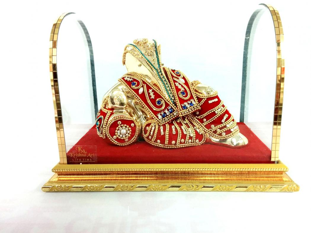 Abstract Lord Ganesha Statue in Resting Position 23332
