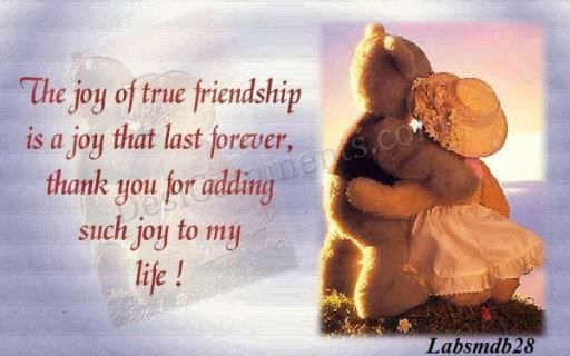 Thank You For Being My Friend DesiComments Com