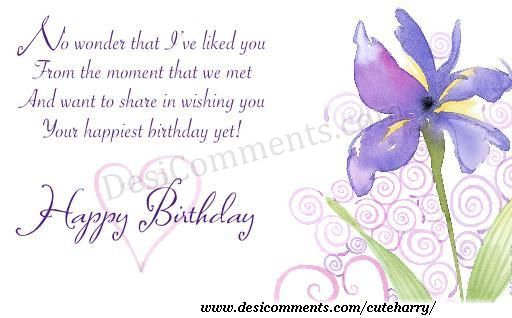Wishing You Happy Birthday DesiComments Com