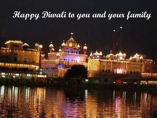 Happy Diwali Golden Temple DesiComments Com