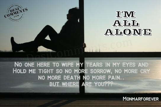 My Life Quotes Wallpapers No One Here To Wipe My Tears In My Eyes Desicomments Com