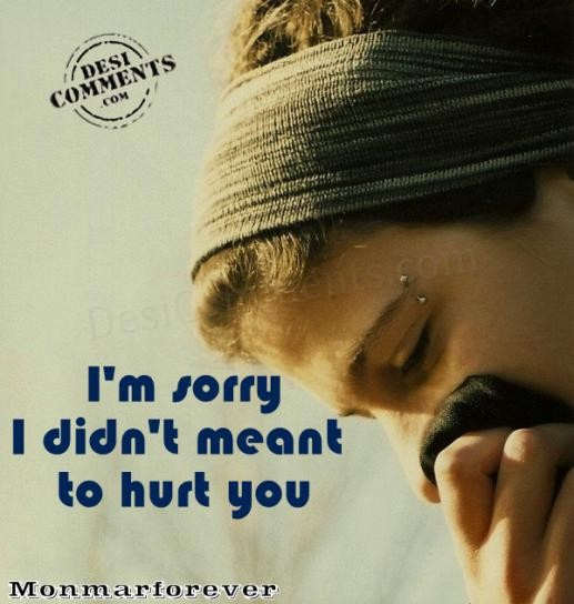 Hurting Love Quotes Wallpapers I M Sorry I Didn T Meant To Hurt You Desicomments Com