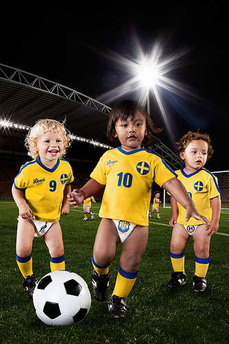 Cute Babies Good Morning Wallpapers Cute Babies Playing Soccer Desicomments Com