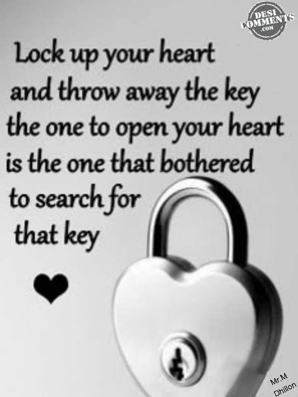 Lock Up Your Heart DesiComments Com
