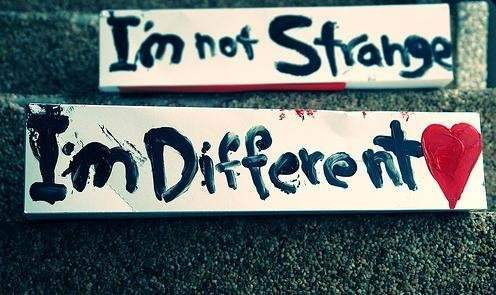 Sad And Alone Quotes Wallpapers I M Not Strange I M Different Desicomments Com