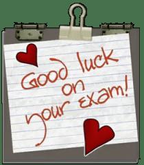 exam luck