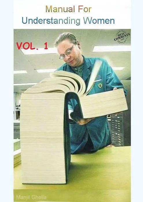 Manual for understanding women...