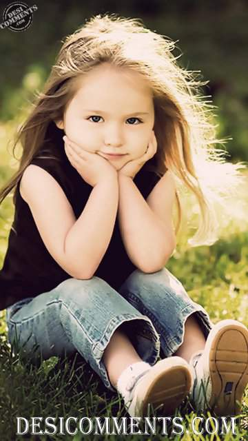 Sad Shayari With Sad Girl Wallpaper Hd Little Baby Girl Thinking About Something Desicomments Com
