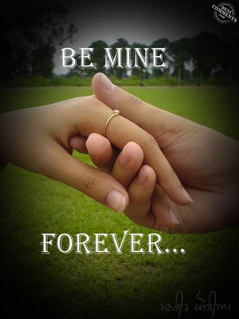 Be Mine Forever DesiComments Com