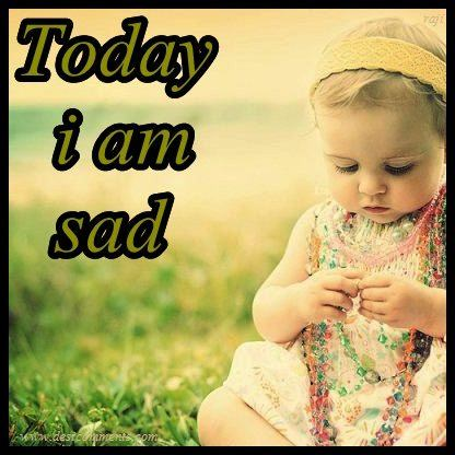 Cute Baby Girl Crying Wallpapers Today I Am Sad Desicomments Com