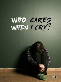 Poetry Love Quotes Wallpaper Who Cares When I Cry Desicomments Com
