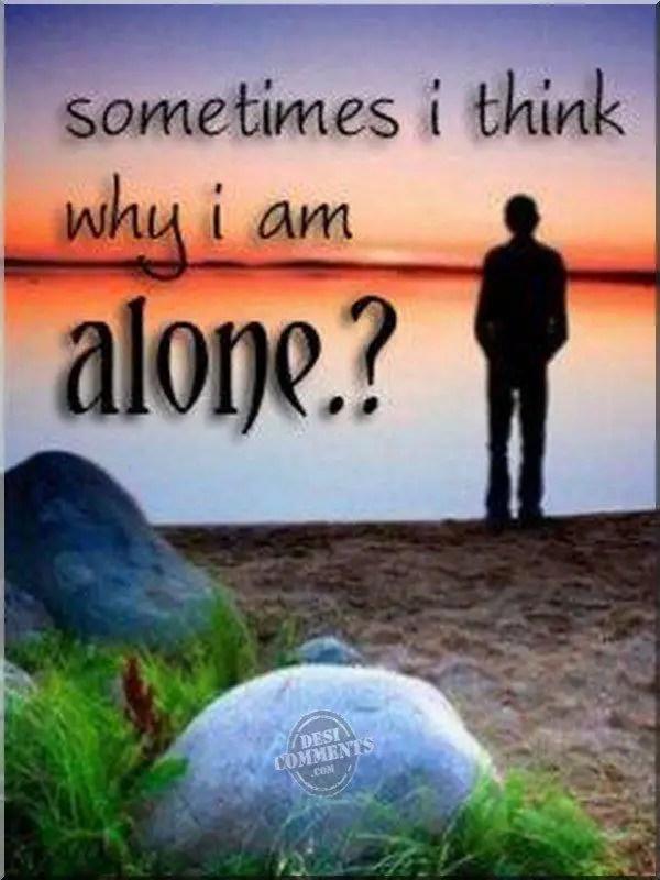 Sad Girl Shayari Wallpaper Download Why I Am Alone Desicomments Com