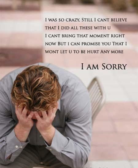 I Am Sorry Wallpapers With Quotes I Was So Crazy Plz I Am Sorry Desicomments Com