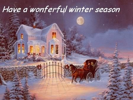 Have a beautiful winter season  DesiCommentscom