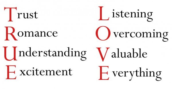 Meaning Of True love