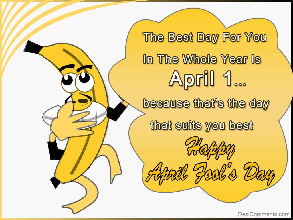 Happy April Fool S Day