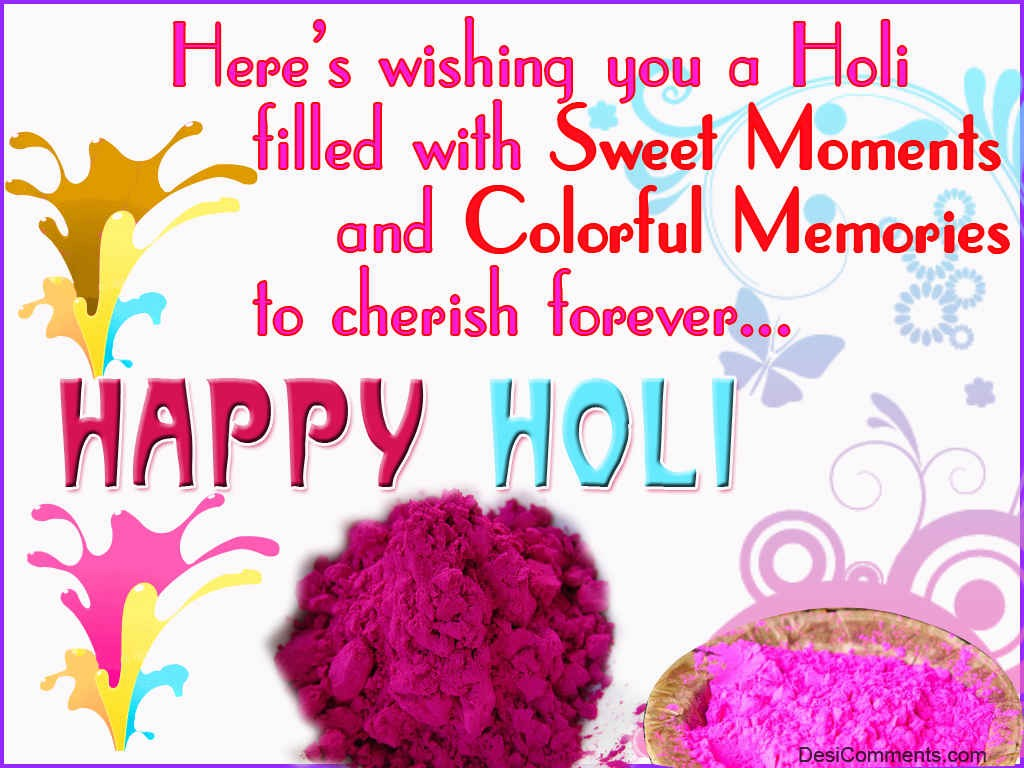 Good Morning Hd Wallpaper With Quotes In Hindi Wishing You A Holi Filled With Sweet Moments