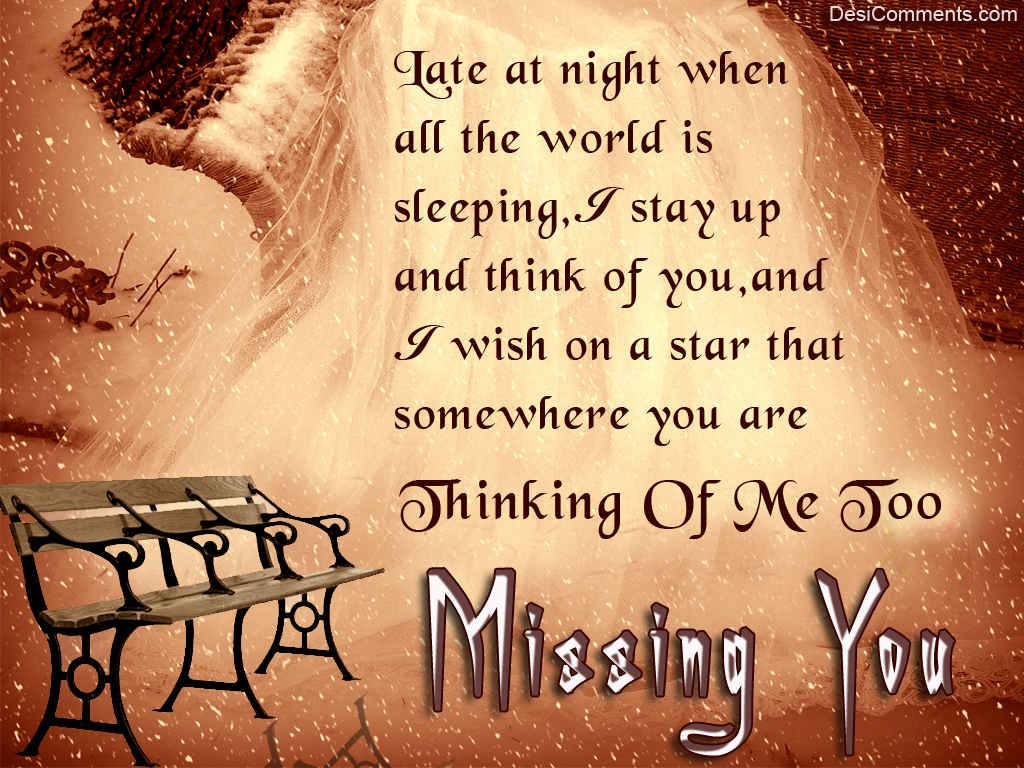 Missing You DesiComments Com