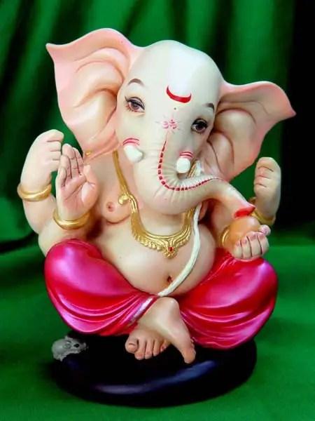 Cute Bal Ganesh Wallpaper Shri Ganesh Ji Desicomments Com