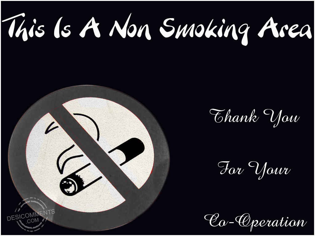 Religious Wallpaper With Quotes This Is A Non Smoking Area Desicomments Com