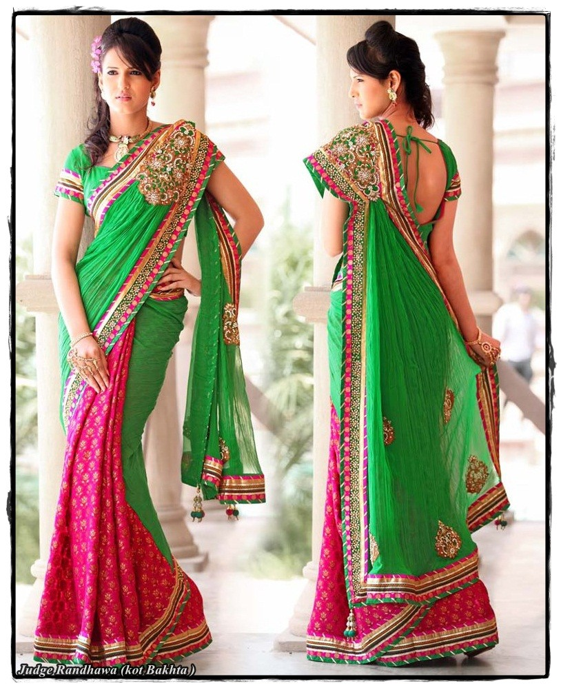 Lovely Wallpapers With Quotes In Hindi Double Shade Saree Desicomments Com