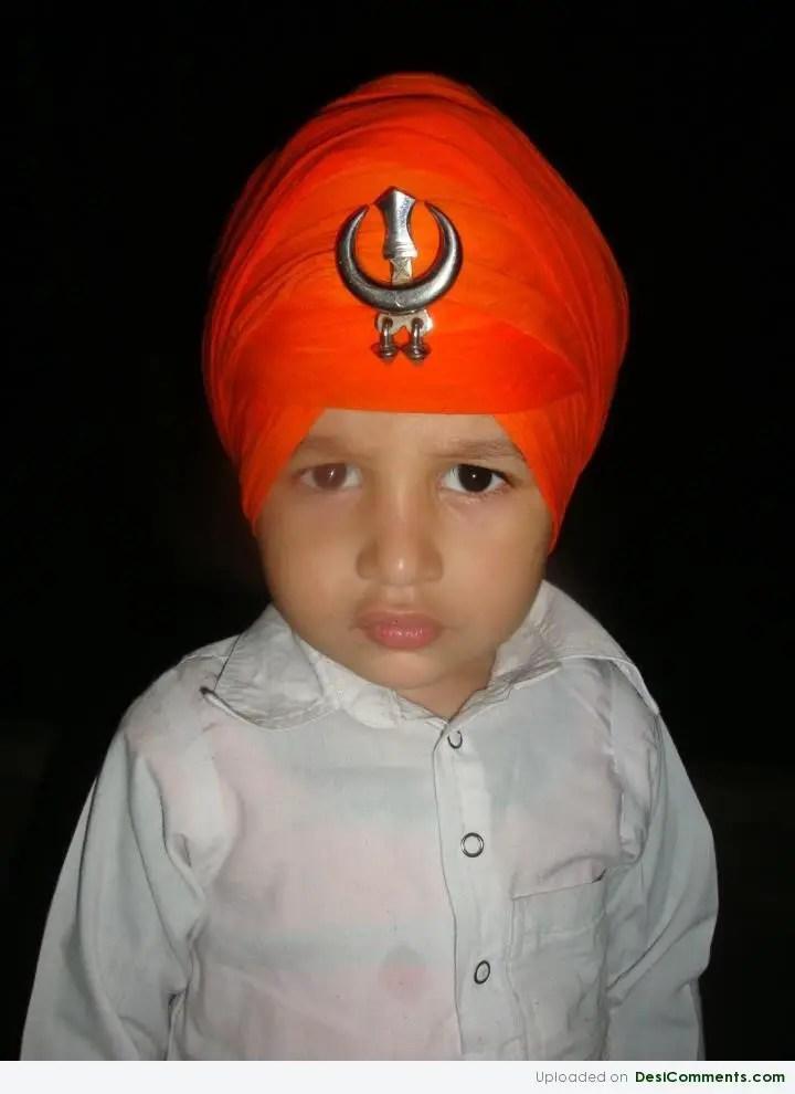 Cute Sardar Baby