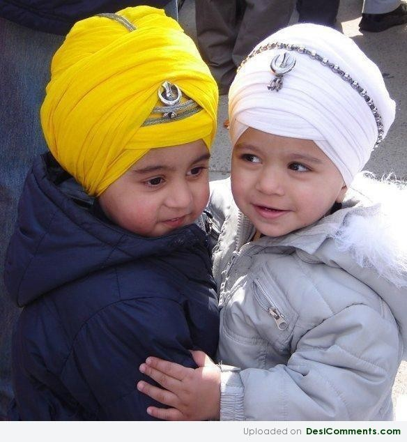 Cute Sikh Babies Wallpapers Cute Kids Desicomments Com