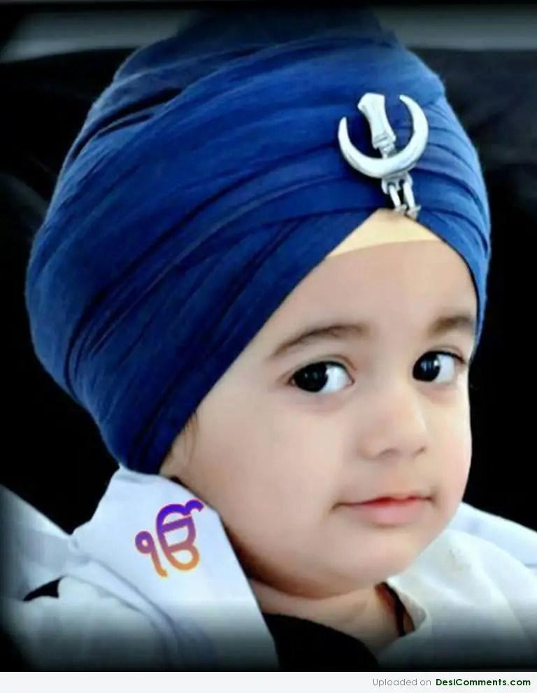 Punjabi Boy And Girl Wallpaper Little Sardar Boy Desicomments Com