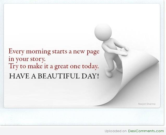 Have A Beautiful Day DesiComments Com