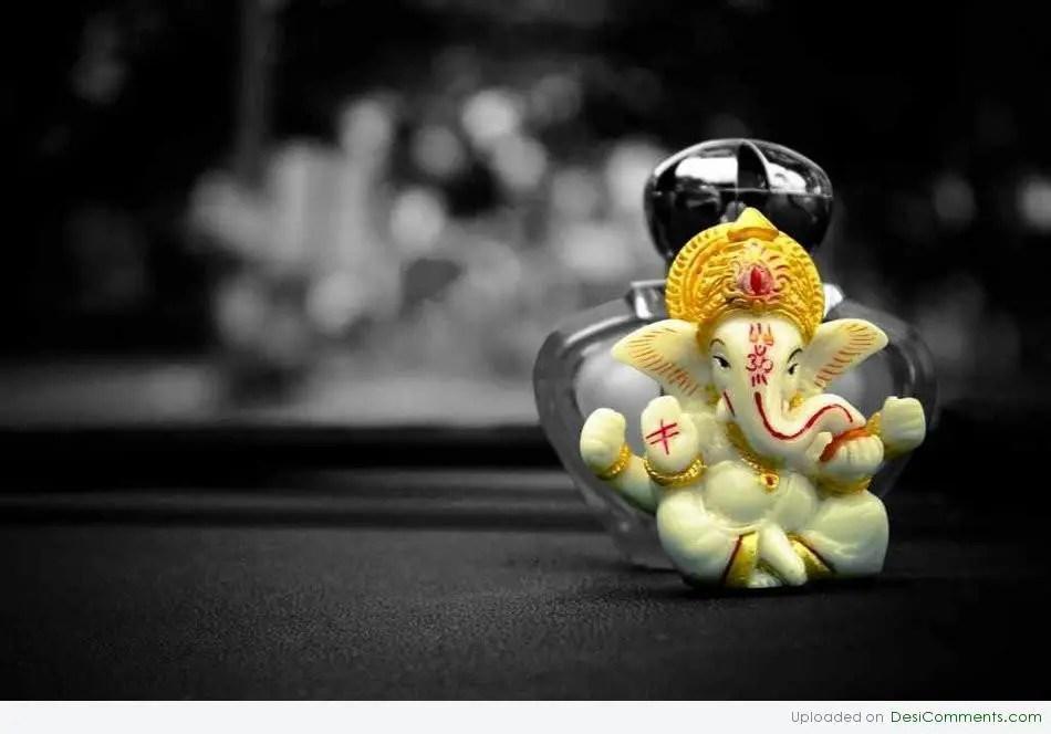 Good Morning Quotes Hindi Wallpaper Ganesh Ji Desicomments Com
