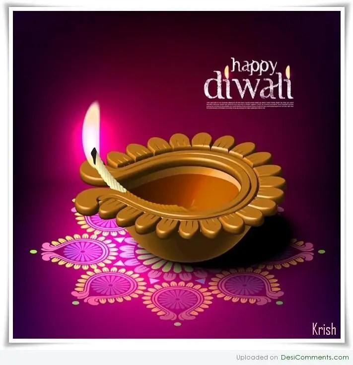 Shubh Diwali DesiComments Com