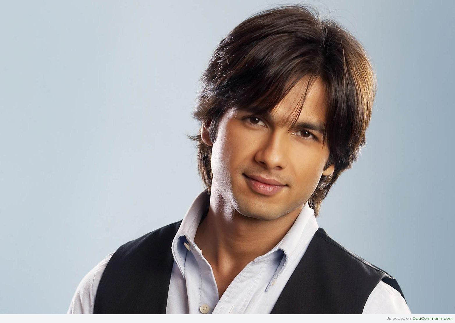 Shahid Kapoor Nice HairStyle DesiComments Com