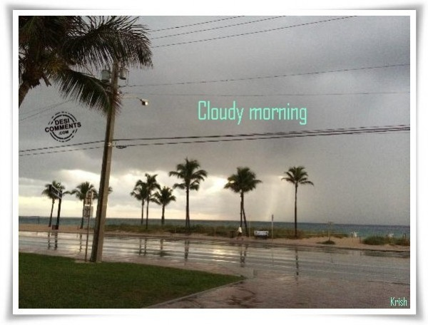 Fb Wallpapers With Quotes Cloudy Morning Desicomments Com
