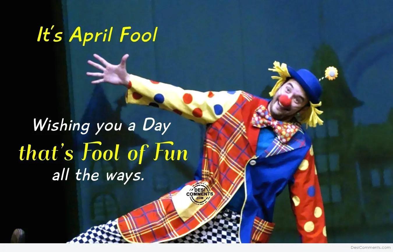 Its April Fool