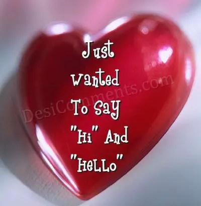 lovely shining red heart
