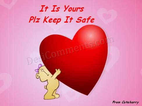 Good Morning Wallpapers With Love Quotes In Hindi Keep My Heart Safe Desicomments Com