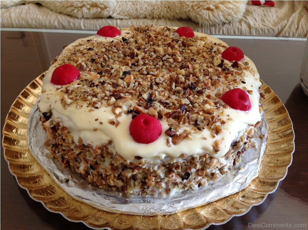Happy Birthday With Cake Desicomments Com